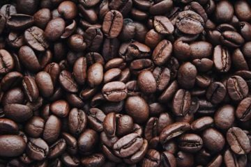 Delicious looking brown coffee beans